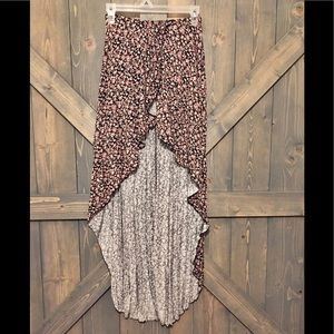 High-low Floral Maxi Skirt 🌷